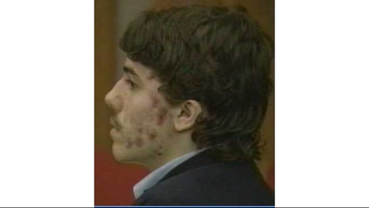 Stephen Launsburry in court in 1994.