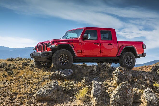 Sales were down across all brands for Fiat Chrysler in the second quarter of the year, but there was a lone bright spot, the Jeep Gladiator.