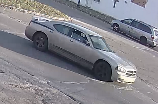 Police say this is the vehicle the shooting suspect used to escape the scene.