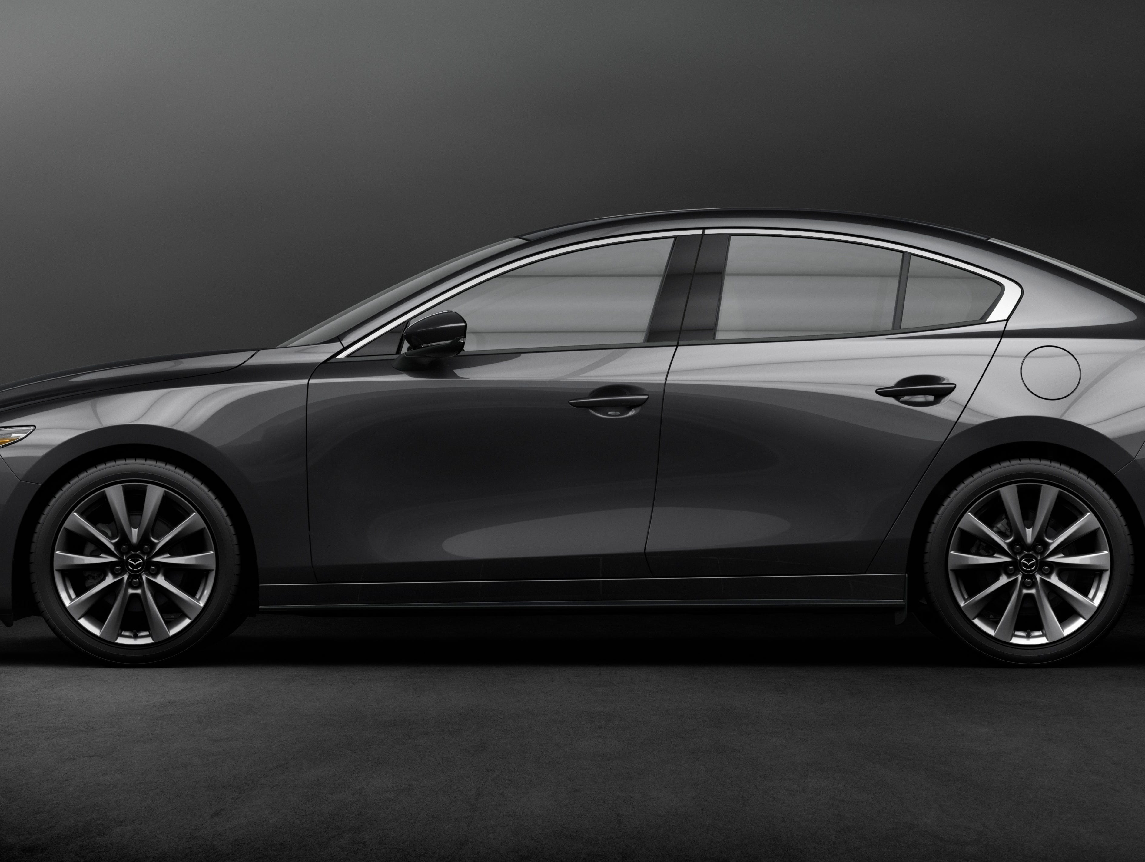 The all-new Mazda3 uses a new type of engine that combines gasoline and diesel technology.
