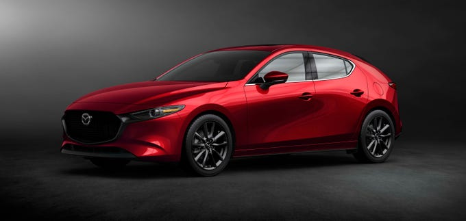The all-new Mazda 3 hatchback hews closely to the concept that wowed LA Show audiences in 2017.