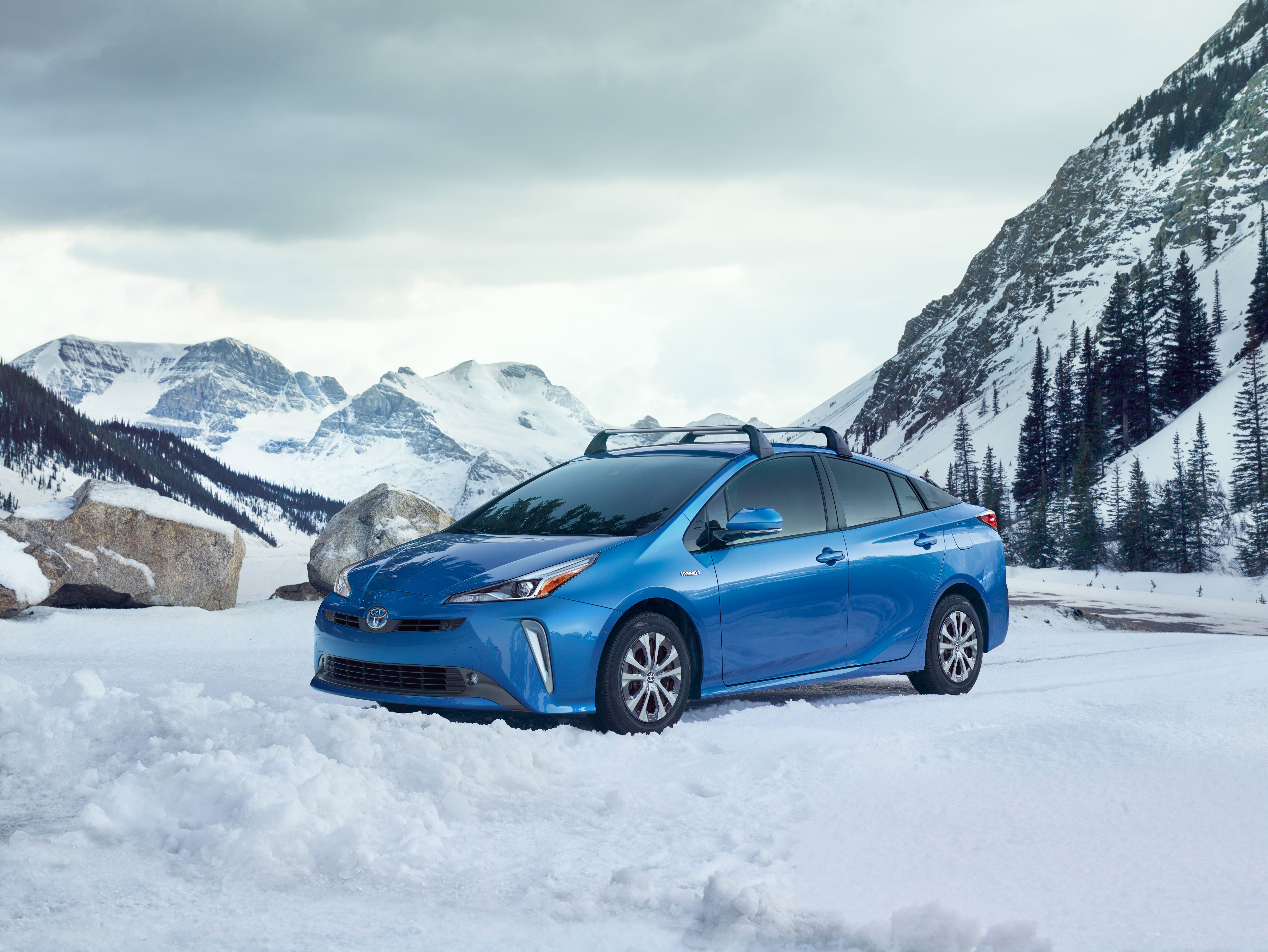 """The 2019 Toyota Prius offers an optional """"AWD-e system"""""""