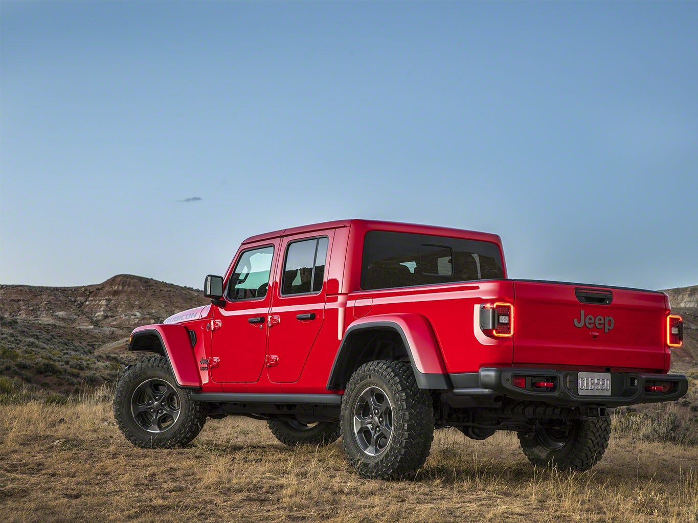 The Jeep Gladiator 2020