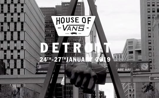 """The California-bases skatershoe brand is hosting a pop-upstore dubbed """"House of Vans""""Jan. 24-27at the Jefferson School in Midtown/"""