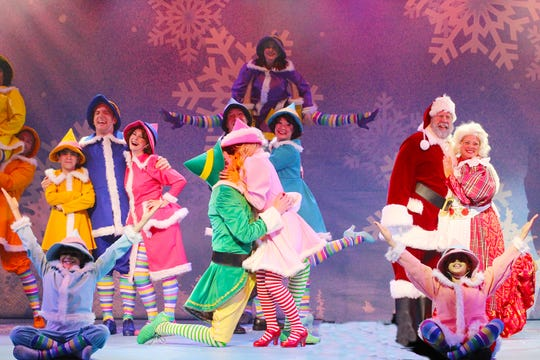 """Broadway Palm's """"Elf the Musical"""""""