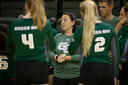 Abbey Sutherland needed one season to end UWGB's NCAA tournament drought. She was hired in the spring after a successful run at UW-Stevens Point.