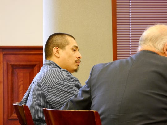 A re-trial began for Robert Mathew Holguin, Jr., Tuesday in Great Falls for charges of child abuse.