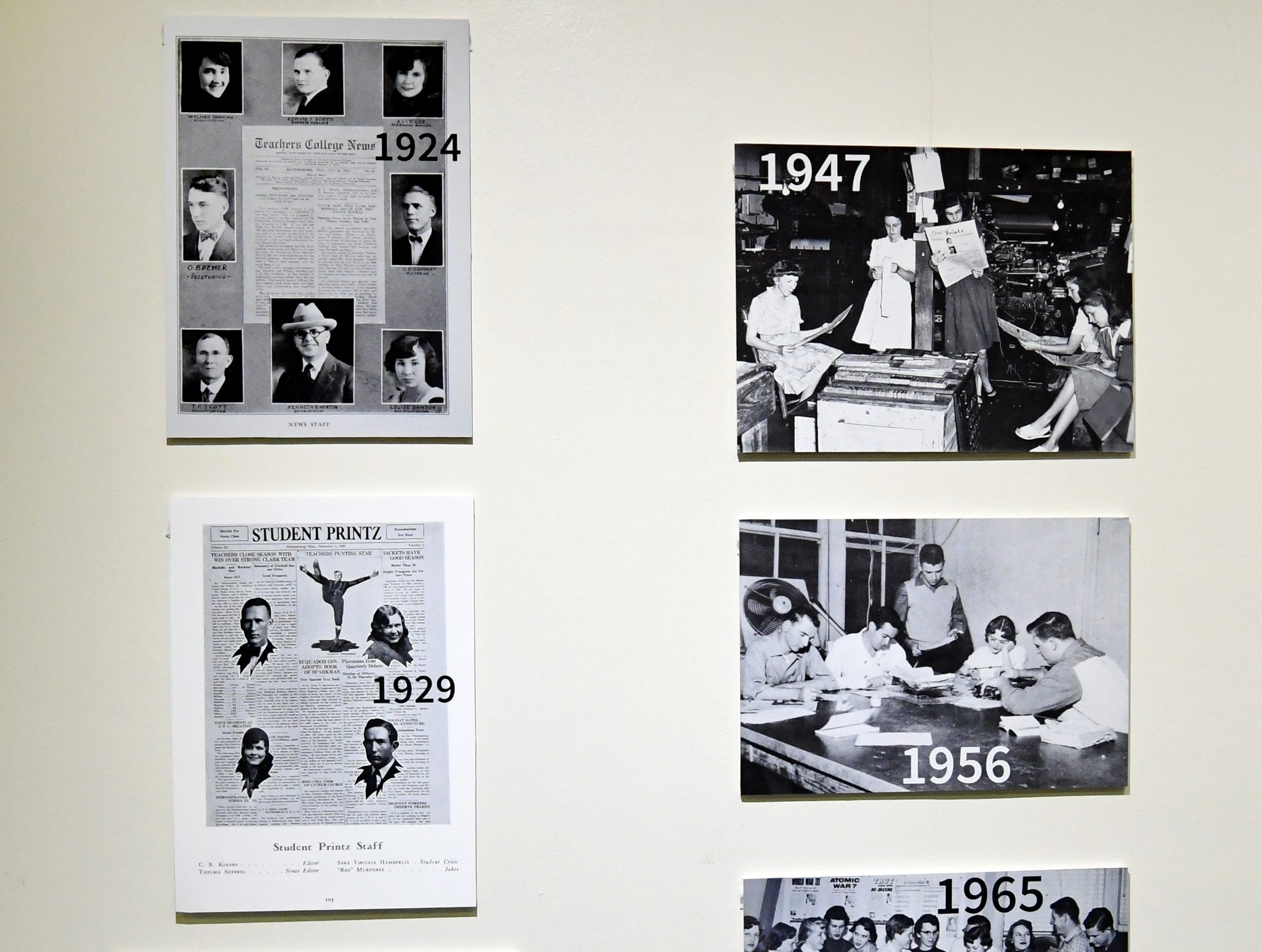 The Southern Miss student newspaper, the Student Printz, celebrates 100 years in December.