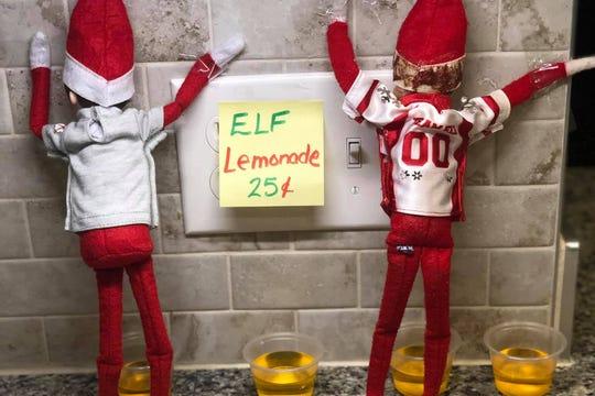 """Elf on the Shelf """"lemonade."""""""
