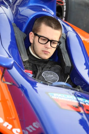 Indy Lights driver Richard Philippe