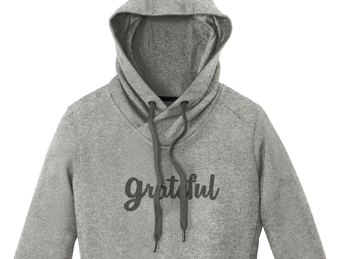 Grateful womens hoodie