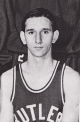 "Ralph ""Buckshot"" O'Brien in uniform for Butler."