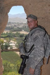 William Henry, former adjutant for the American Legion in Indiana and an Indiana National Guard veteran, in Bamiyan City, Afghanistan, Sept. 10, 2009.