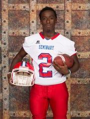 Seminary High student-athlete Dalvon Martin.