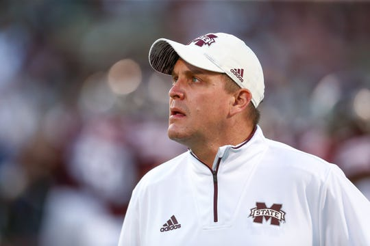 Mississippi State defensive coordinator Bob Shoop is one of five finalists for the Broyles Award given to the best assistant coach in college football. Photo by Keith Warren/Madatory Photo Credit