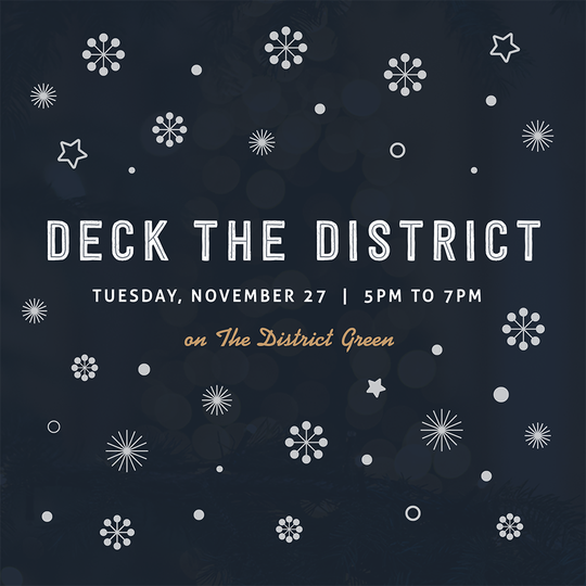 Deck The District Ad