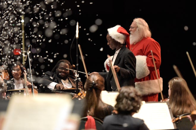 Holiday cheer will be in the air this weekend during the Jackson Symphony's Holiday Pops concert.