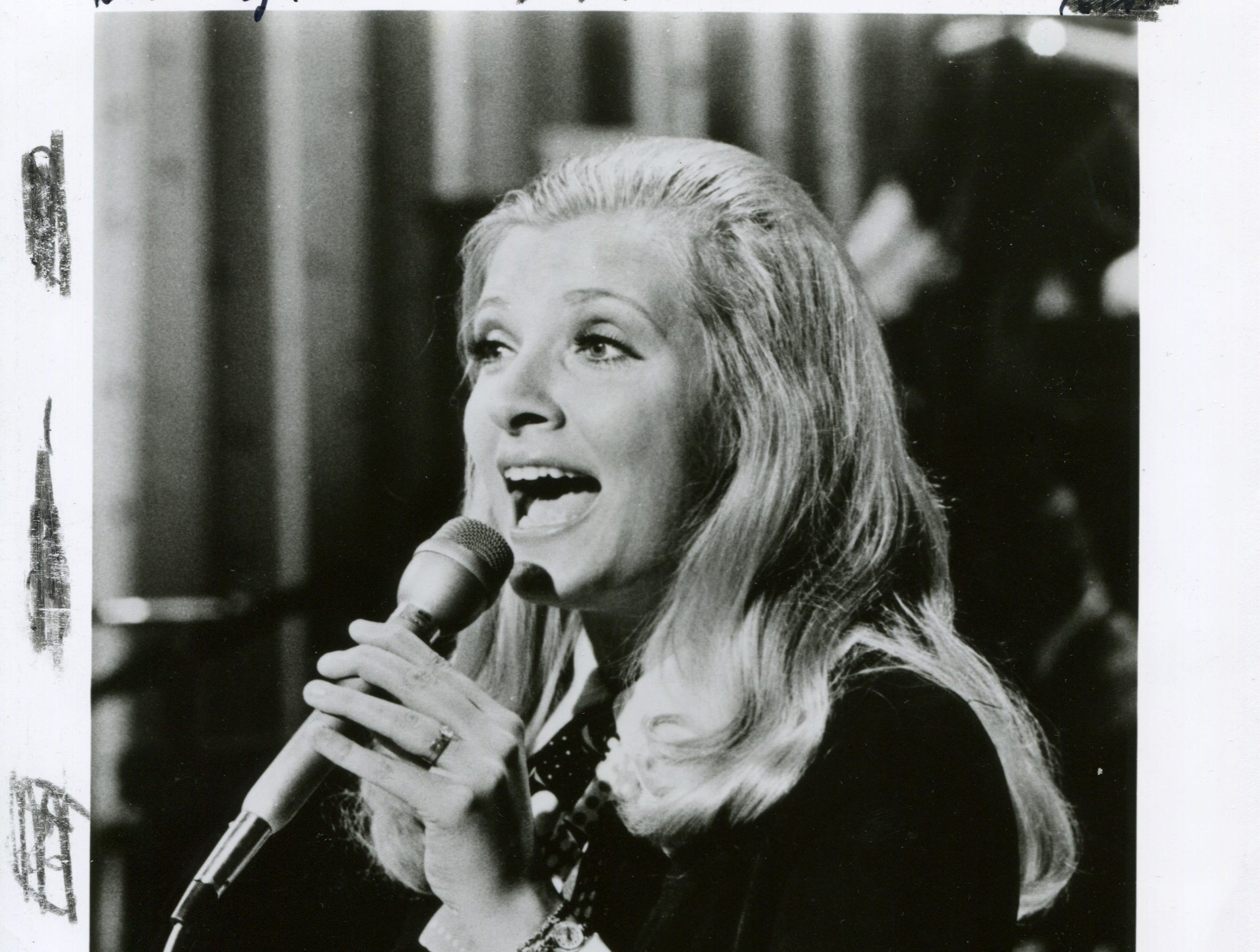 Knoxville native Ava Barber in April 22, 1979. Barber performed on the Lawrence Welk Show between 1974 and 1982.