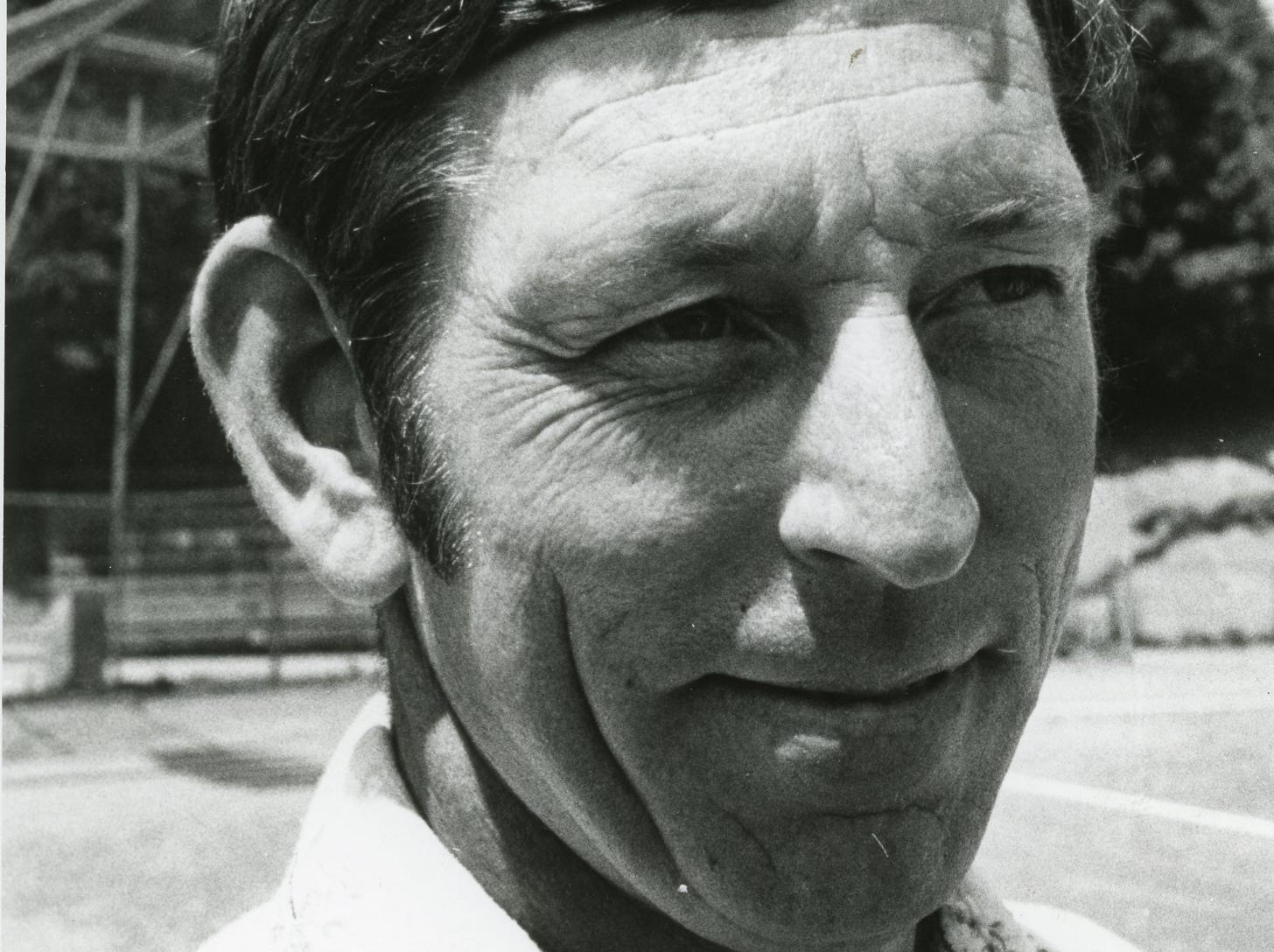 Central High baseball coach Bud Bales, June, 1975.
