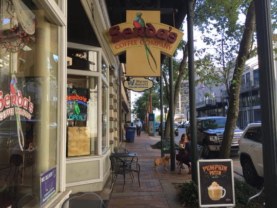 Downtown Mobile has turned trendy with coffee shops, restaurants and taverns in the Dauphin Street area.