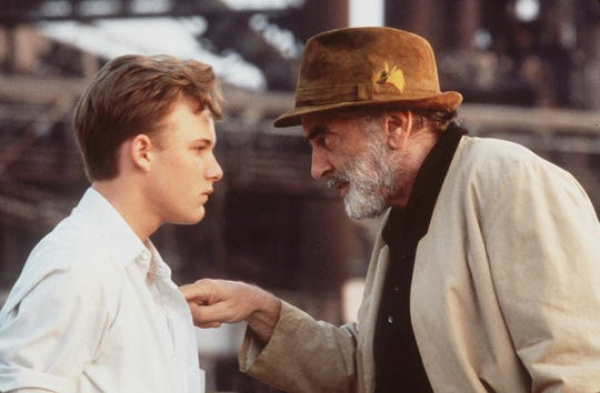 """Actors Brad Renfro, left, and Maximilian Schell appear in a scene from the movie, """"Telling Lies in America,"""" a 1997 release."""