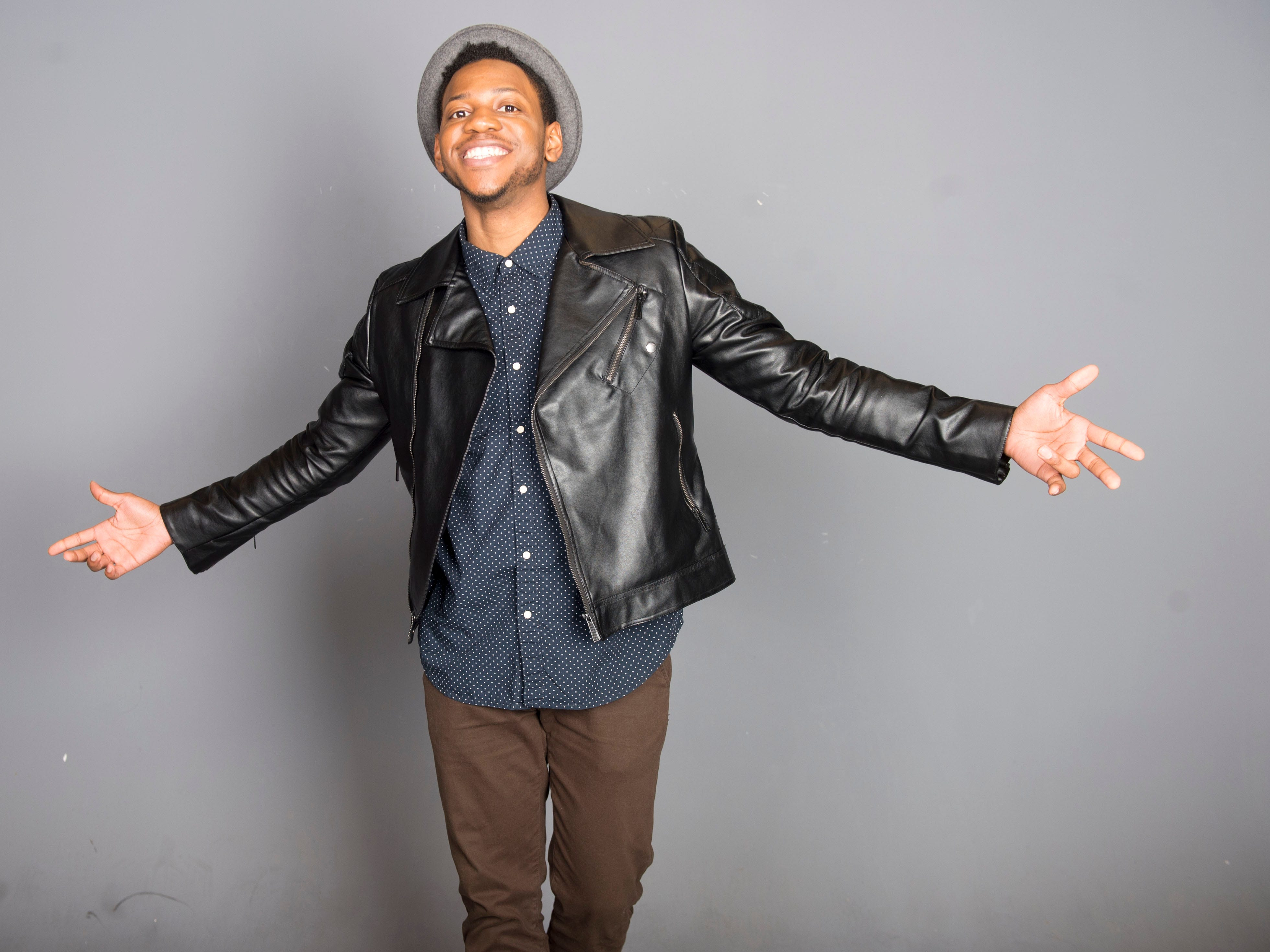 "Knoxville's Chris Blue, a contestant on ""The Voice."""