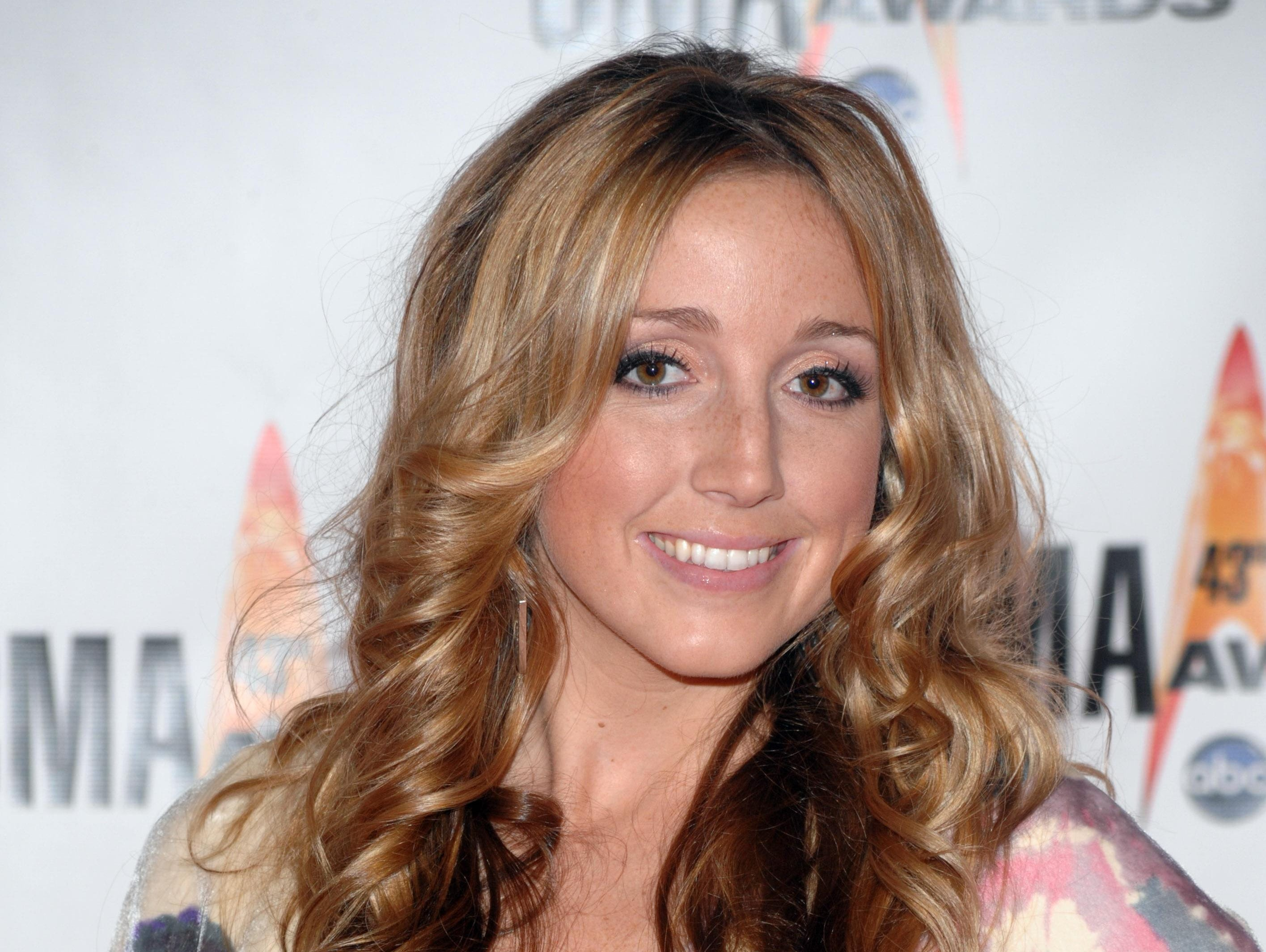 Recording artist Ashley Monroe attends the 43rd Annual Country Music Awards in Nashville, Tenn. Wednesday, Nov. 11, 2009.