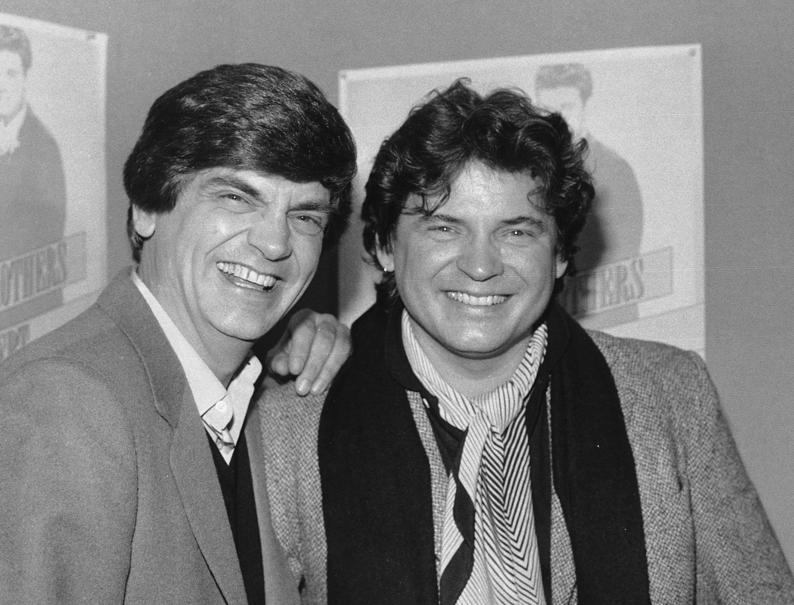 The Everly Brothers --- Phil, left, and Don --- are pictured Jan. 4, 1984, in New York City.