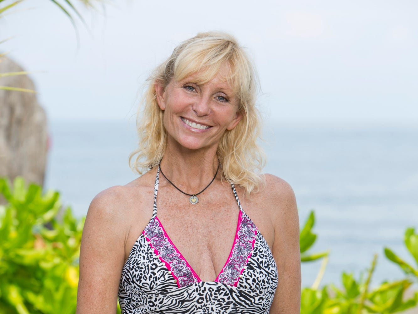 Former Survivor Winner, Tina Wesson will be one of 20 castaways competing with their loved one and other returning players on SURVIVOR: BLOOD VS. WATER, when the Emmy Award-winning series returns for its 27th season with a special 90 minute premiere, Wednesday, Sept. 18 (8:00-9:30 PM, ET/PT) on the CBS Television Network.