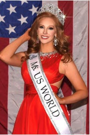 Ashley Ingram, a Sweetwater native, won the Ms. US World pageant on Nov. 19. She will represent the U.S. at the Ms. World pageant in 2019.