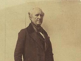 Texas statesman Sam Houston began is rise to dominance when he came to Andrew Jackson's notice in the Battle of Horseshoe Bend during the War of 1812. This photograph was made about five years before his 1863 death when Houston was an U. S. senator.