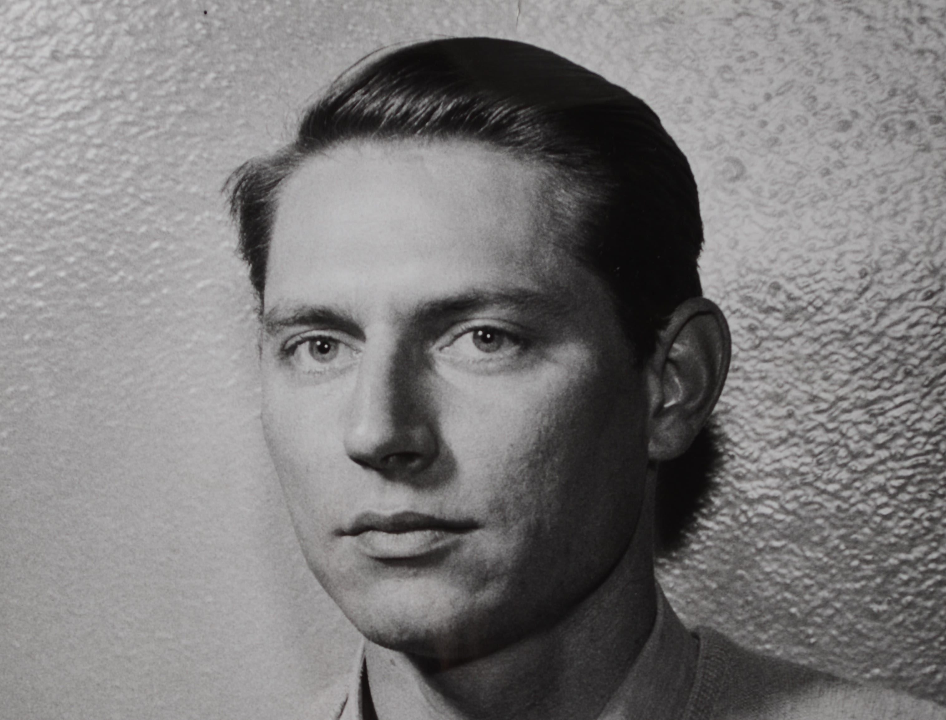 "Actor John Cullum is seen in a publicity photo for the UT Theatre's production of ""Come Back, Little Sheba"" in 1956."