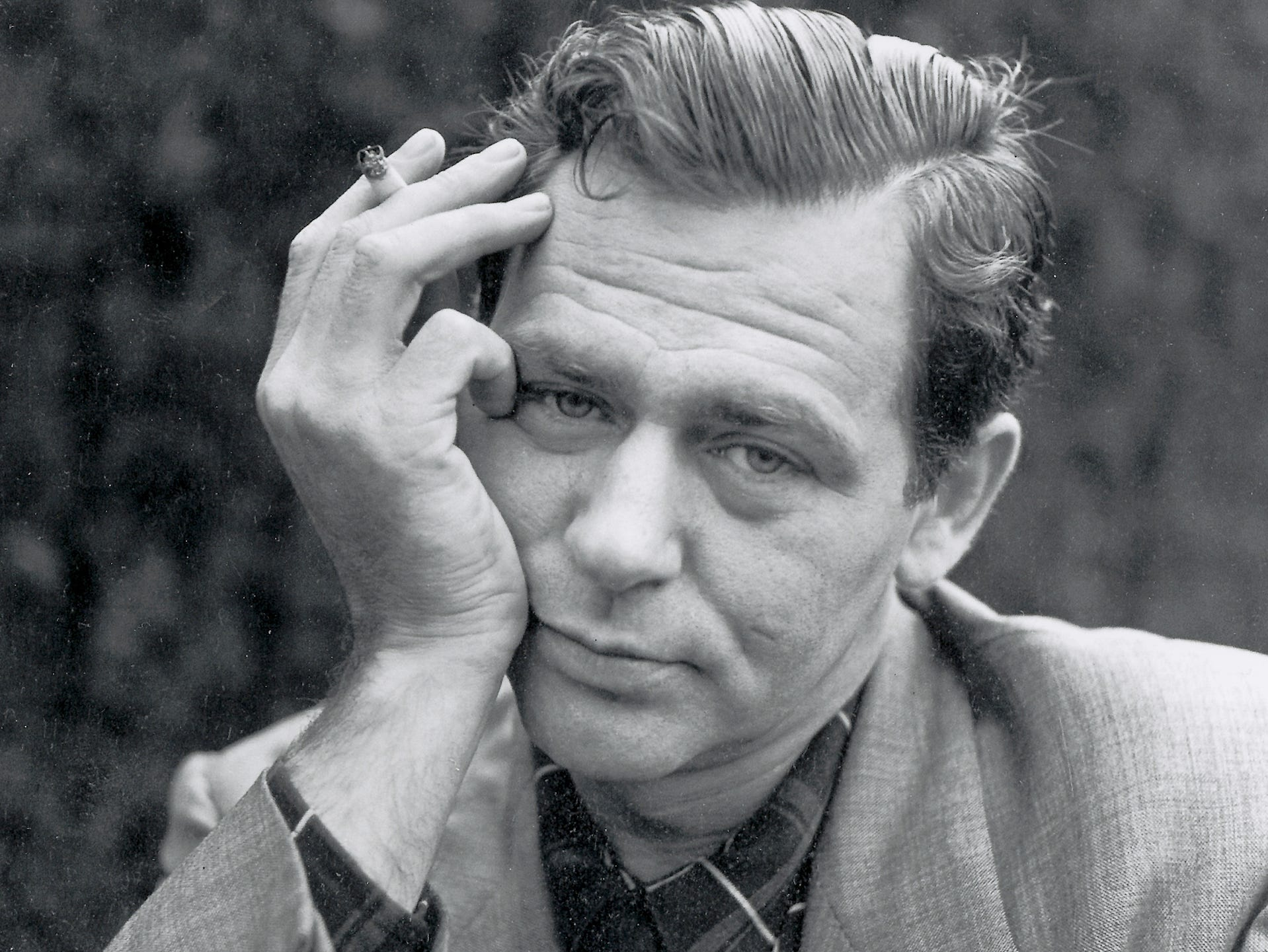 James Agee, in an undated photo. (Photo by Florence Homolka, courtesy of the Academy of Motion Picture Arts & Sciences)