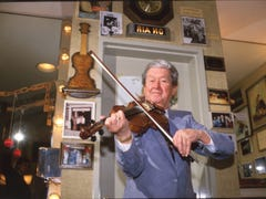 Country music's king: Roy Acuff traded baseball for the Opry stage and the hearts of fans