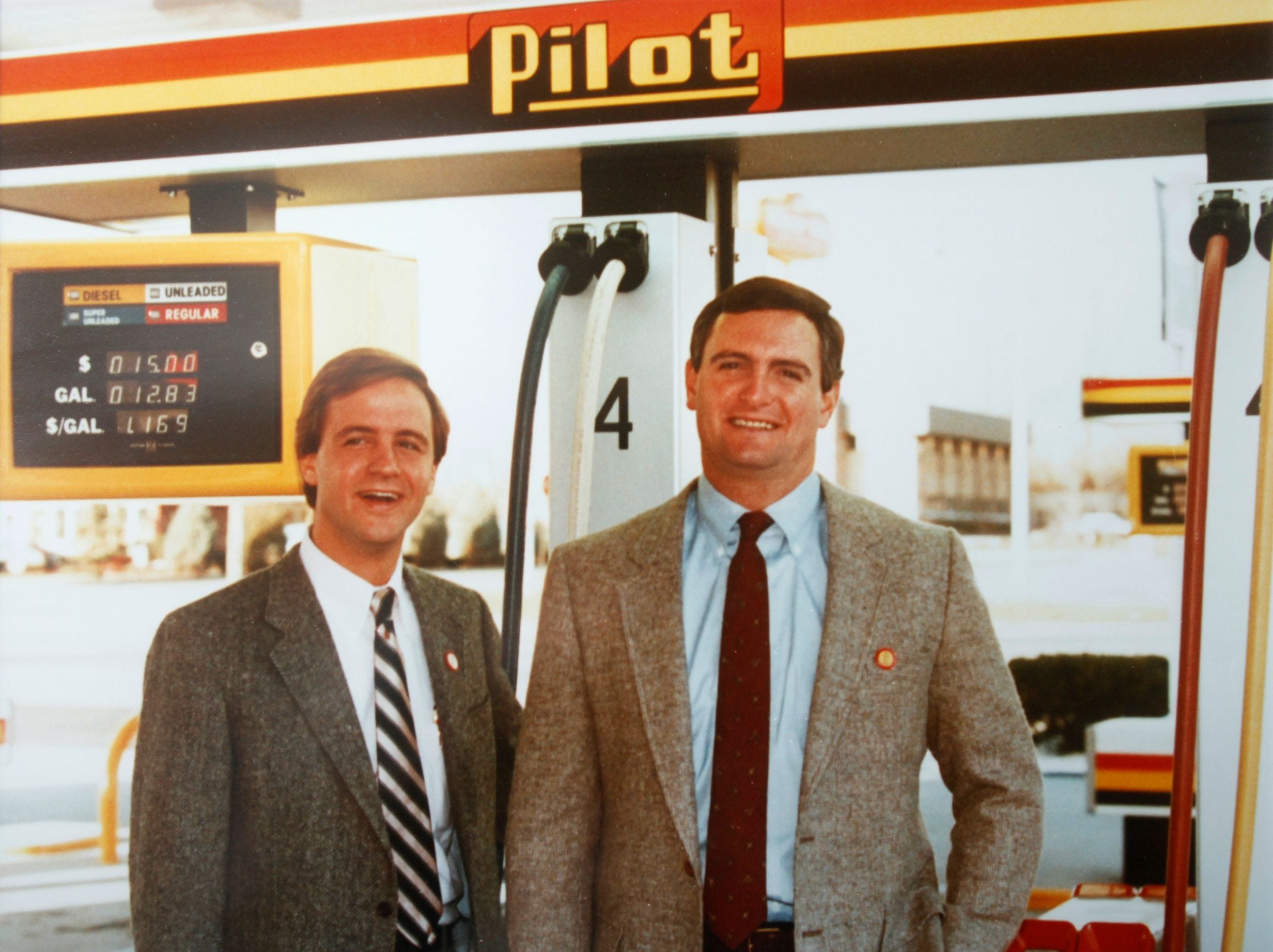 Bill and Jimmy Haslam 1993