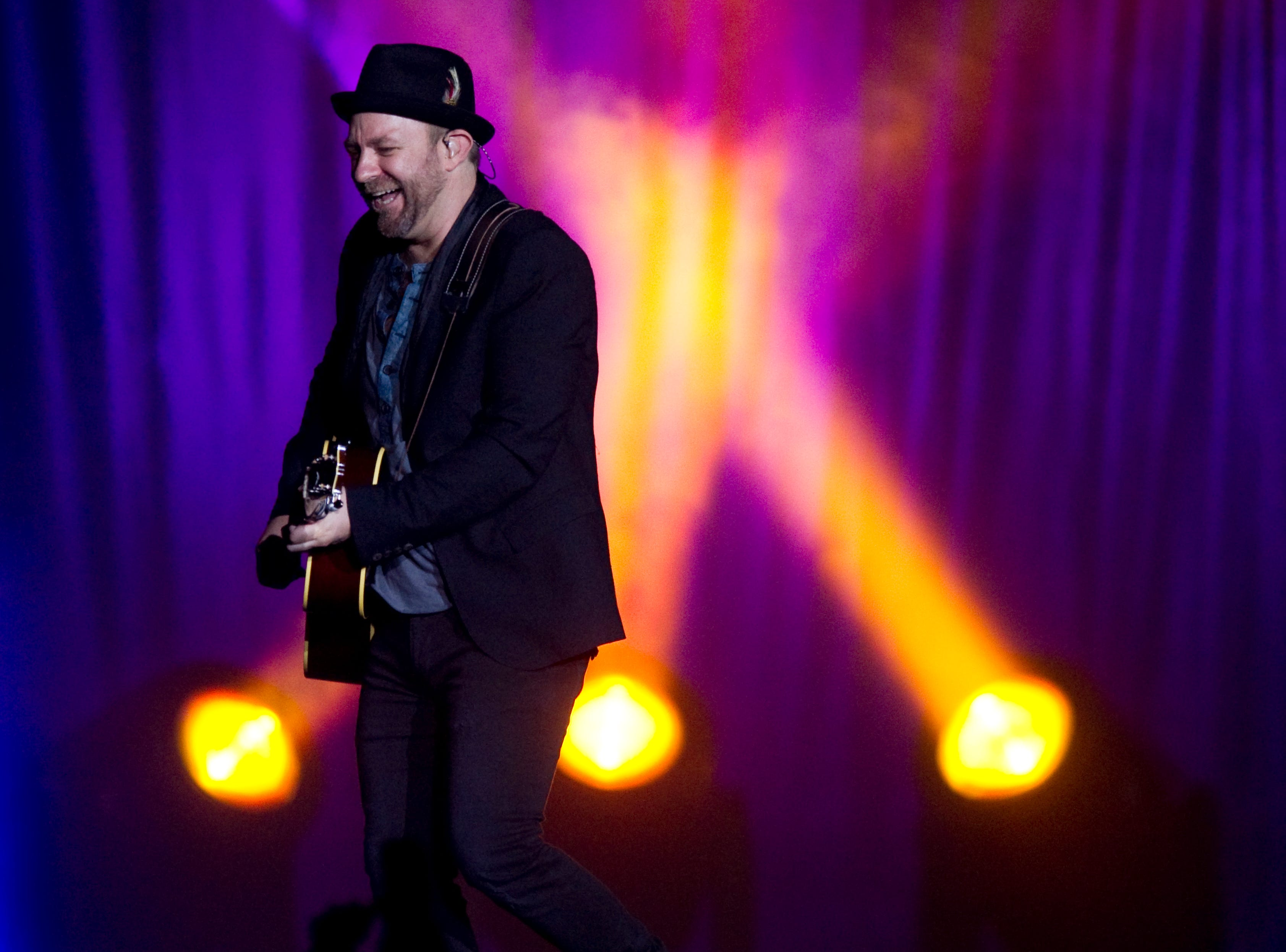 Kristian Bush of Sugarland perform at Thompson-Boling Arena on Thursday, October 6, 2011.