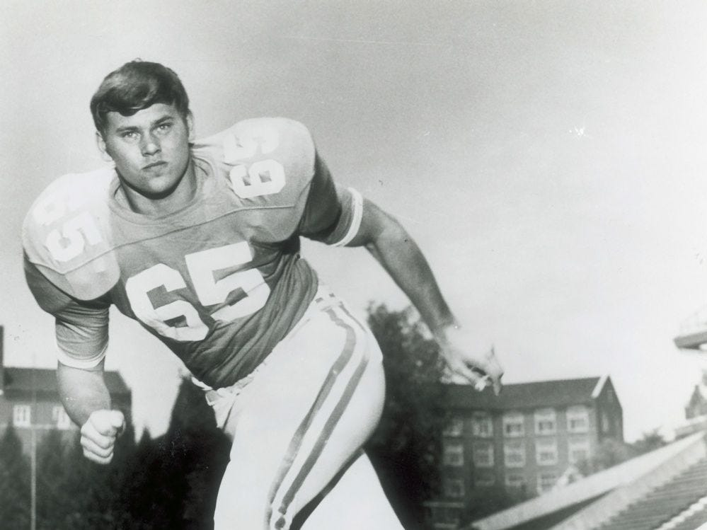 Phillip Fulmer when playing for Tennessee