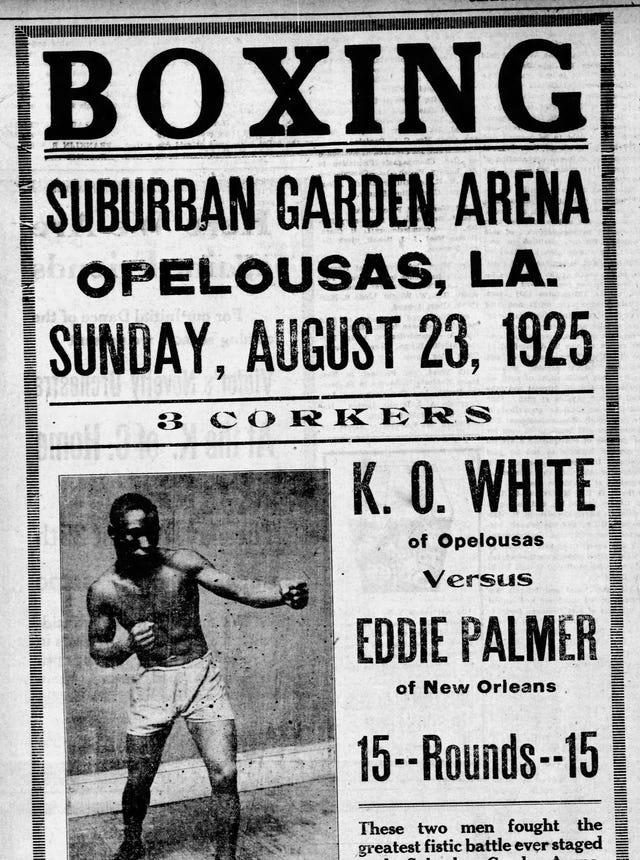 Parlons Opelousas: Suburban Garden of the Roaring '20s