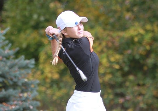 Brighton sophomore Maggie Pietila is the fourth sister from her family to make all-state in golf.