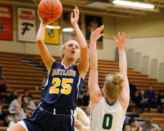 Hartland is 42-8 during Whitney Sollom's two seasons with the Eagles.