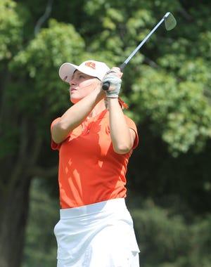 Brighton senior Annie Pietila made the all-state golf team for the third time.