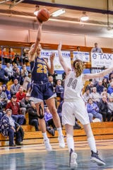 Hartland junior Whitney Sollom (25) began to dominate games late last season. She'll miss time early in the season recovering from a knee injury.