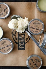 Pet Wants on the Avenue also makes paw wax for dogs, which heals cracked, burnt, or injured paws. Retails for $6.