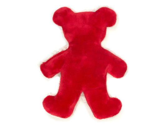The West Paw Holiday Bear from Pet Wants on the Avenue includes a squeaker and is ultra soft. Retails $9.34-$15.99.