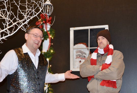 Manitowoc's barbershop a cappella men's chorus is presenting its annual Christmas Show at 7 p.m. Dec. 8 at Silver Lake College.