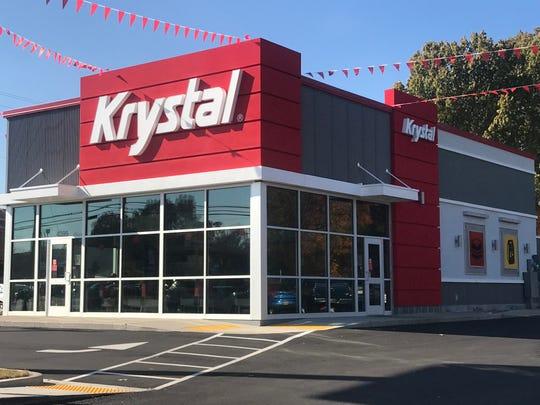 A Krystal restaurant.
