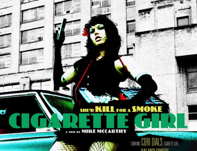 """Cigarette Girl"" (2009) - This fantasy chronicles a time when a pack of cigarettes costs more than $60. It  Christopher Tyzhai Allen, D'Army Bailey and Helen Bowman."