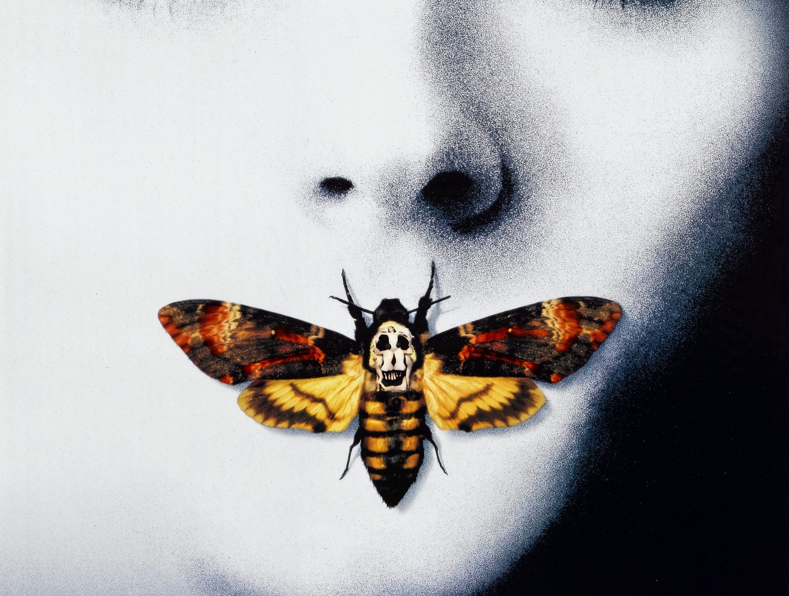 """The Silence of the Lambs"" (1991) - The movie that made fava beans and Chianti  acceptable sides liver stars Jodei Foster and Anthony Hopkins as the cannibal killer Hannibal Lecter."