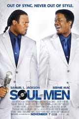 """""""Soul Men"""" (2008) - Samuel L. Jackson and Bernie Mack star in this movie about two estranged soul singers reunited for a performance at the Apollo Theater."""