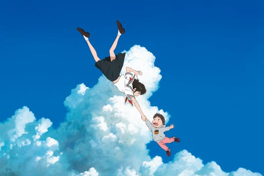 """The Japanese animated film """"Mirai"""" screens several times next week."""